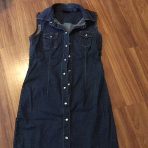 New York & Company Dresses - Jean dress